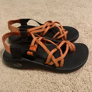 Women's ZX/2 Classic double strap orange chacos